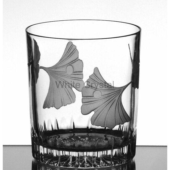 Ginkgo * Ólomkristály Whisky cz pohár (13)