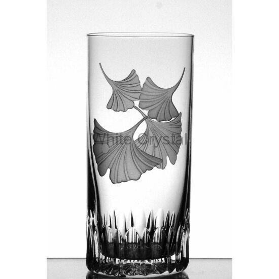 Ginkgo * Ólomkristály Tumbler cz pohár (15)