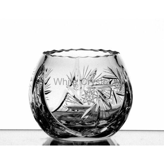 Victoria * Ólomkristály Gömb váza 085 (10)