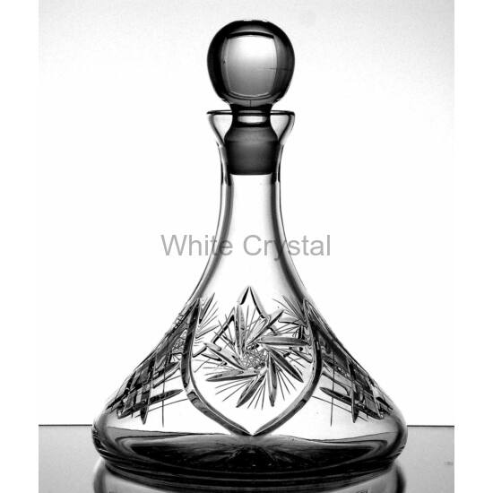Victoria * Ólomkristály Hajó palack 095 (35)