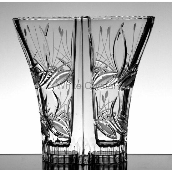 Viola * Ólomkristály Love váza 220 (14) dupla