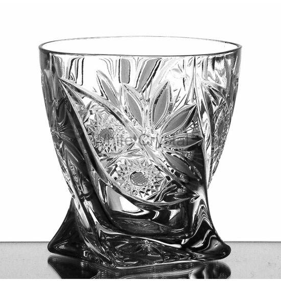Liliom * Kristály Cs whisky pohár 13 LF (17)
