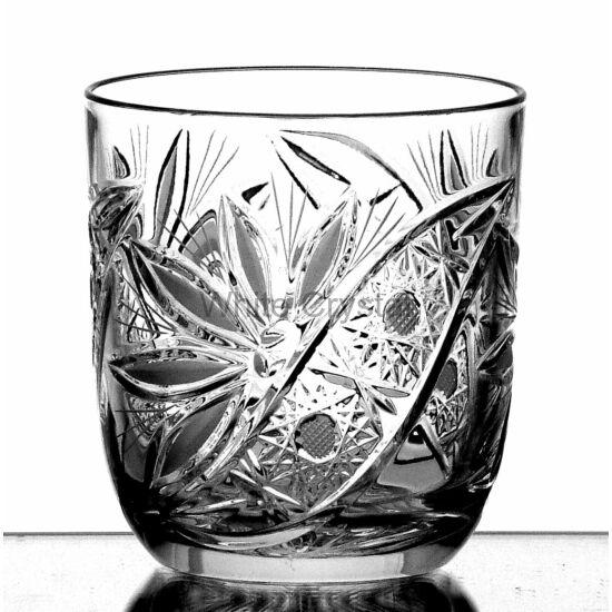Liliom * Kristály Or Whisky pohár 280 ml