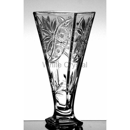 Liliom * Kristály Cs Váza 28 cm