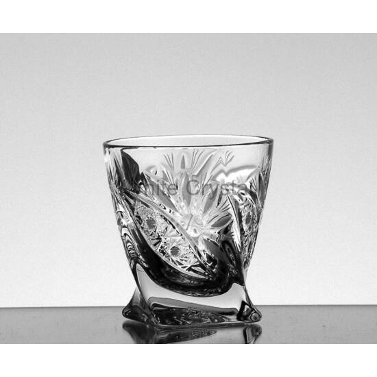 Liliom * Kristály Cs Unicum pohár 55 ml