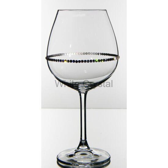 Pearl * Kristály G Bordeaux kehely 650 ml