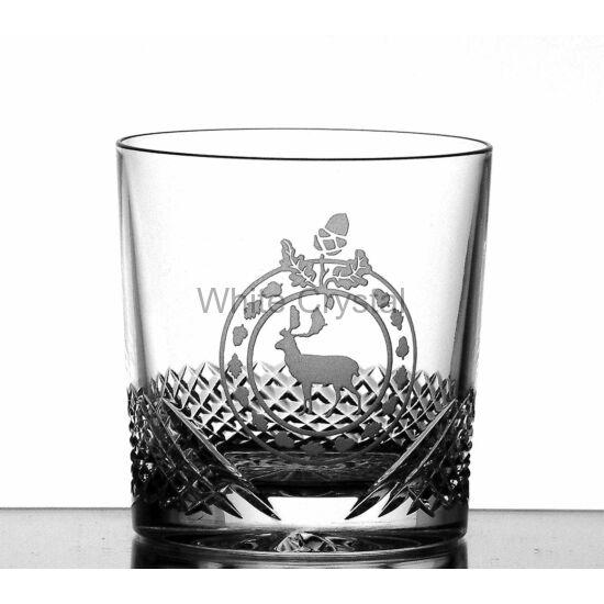 Hunter * Kristály Whisky pohár 9-oz LF