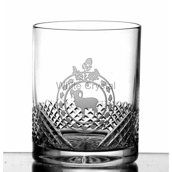 Hunter * Kristály G Whisky pohár 320 ml