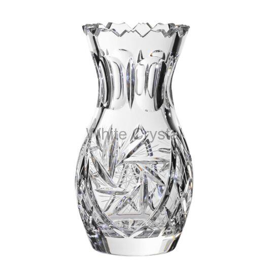 Victoria * Ólomkristály TU váza 18 cm