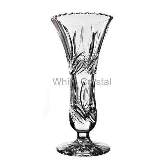 Viola * Ólomkristály Talpas váza 25,5 cm