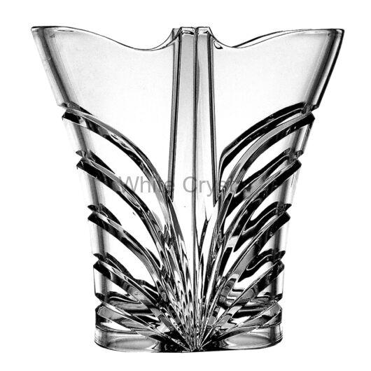 Modern * Ólomkristály Love váza 220 (14) dupla