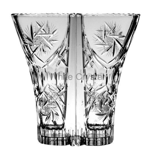 Victoria * Ólomkristály Love váza 220 (14) dupla