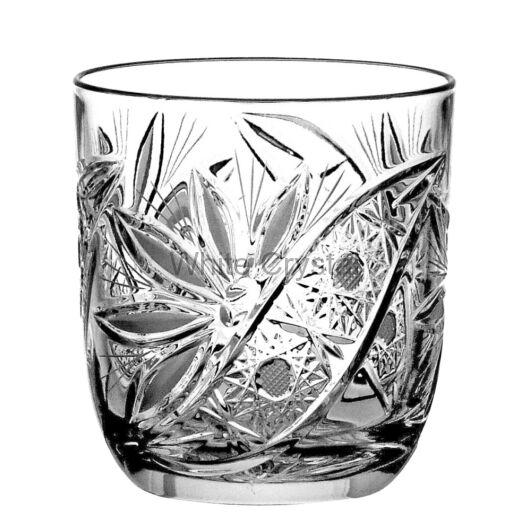 Liliom * Kristály Whisky pohár 280 ml