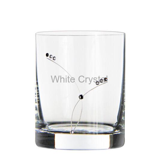 Pearl * Kristály GD whisky pohár 320 ml