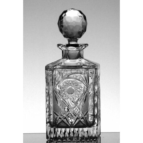 Kőszeg * Ólomkristály Whisky palack 800 ml (62)