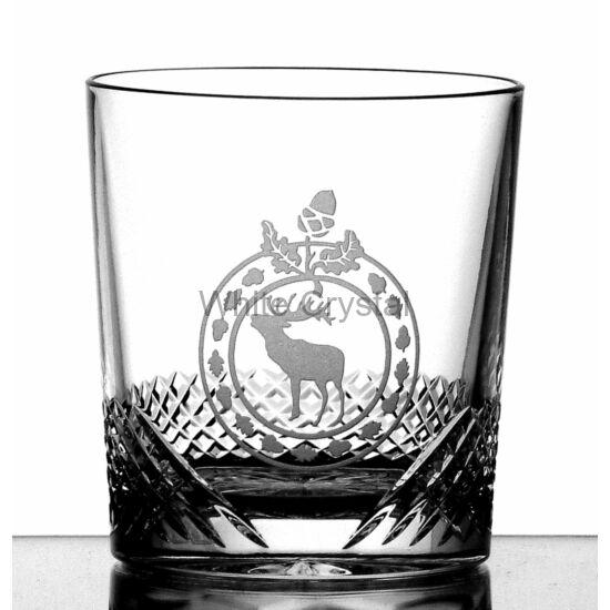 Hunter * Kristály Whisky pohár 12-oz LF