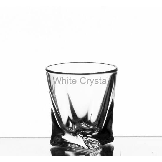 Quad * Kristály Cs Unicum pohár 55 ml