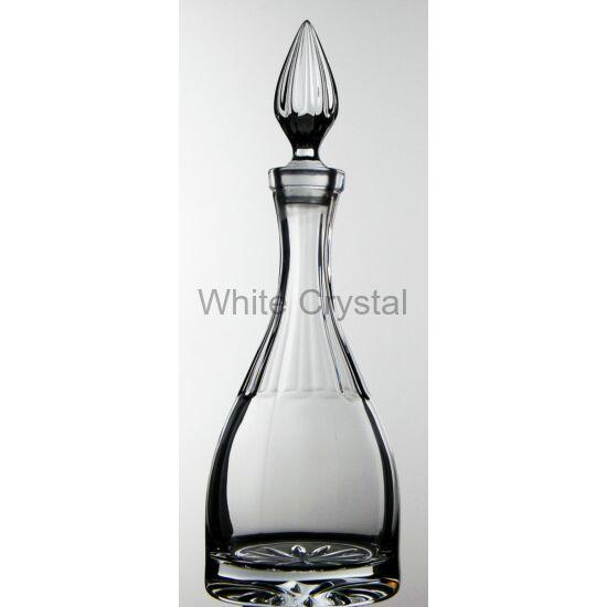 Decanters, bottles * Kristály Hegyes boros palack 1l LF